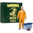 Breaking Bad Jessee Pinkman Orange Hazmat Suit EE Exclusive 6 Inch Action Figure