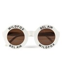 Wildfox Women's Bel Air Sunglasses - Pearl White