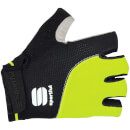 Sportful Giro Gloves - Black/Yellow Fluo