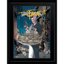 DC Comics Two Face Coin - 16 x 12 Framed Photgraphic