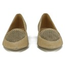 a3c1d5515 Ravel Women's Anaconda Suede Pointed Flat Shoes - Tan Womens ...