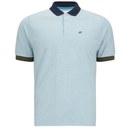 Boxfresh Men's Kailey Polo Shirt - Aquamarine