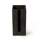 Wireworks Dark Oak Toilet Roll Holder Box