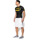 Under Armour Men's Transform Yourself Compression Top - Black/Yellow