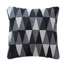 Geometric Grey Cushion