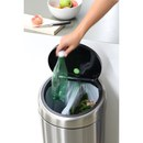 Brabantia 20/20 Litre Fingerprint Proof Recycle Bin - Matt Steel
