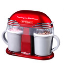 SMART Retro 50's Style Double Ice Cream Maker