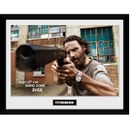The Walking Dead Rick Gun - 16 Inch x 12 Inch Framed Photographic