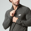 Performance Long-Sleeve 1/4 Zip-Top - XXL - Black