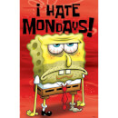 Spongebob Squarepants I Hate Mondays - 24 x 36 Inches Maxi Poster