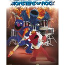 Sesame Street Monsters Of Rock - 16 x 20 Inches Mini Poster