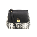 Lauren Ralph Lauren Women's Whitby Embossed Snake Small Cross Body - Snake Print/Black