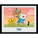 Adventure Time Finn & Jake - 16 x 12 Inches Framed Photographic
