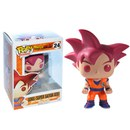 Dragonball Z Goku Super Saiyan God Exclusive Pop! Vinyl Figure