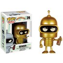 Figurine Futurama Bender Or - SDCC- Pop! Vinyl
