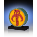 Gentle Giant Star Wars Mandalorian Logo Bookends - 15cm