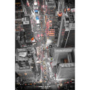 New York Times Square Lights - 24 x 36 Inches Maxi Poster