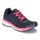 adidas Women's Supernova Glide Boost 7 Running Shoes - Navy/Pink