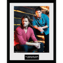 Supernatural Sam and Dean - 16 x 12 Inches Framed Photographic