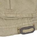 86ee419a1e Brave Soul Men's George Cargo Shorts - Stone Mens Clothing | Zavvi