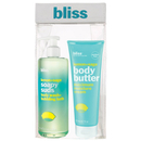 bliss Lemon and Sage Soap Suds and Body Butter Set (värde 38,50 £)