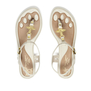 Vivienne Westwood for Melissa Women's Solar 21 Toe Post Sandals - Ivory Orb