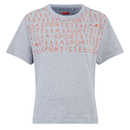 adidas Women's Stella Sport Gym Print T-Shirt - Grey