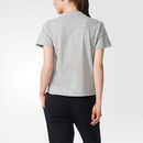 adidas Women's Stella Sport Gym Print Photo T-Shirt - Grey