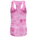 Myprotein Women's Tie Dye Stringer Vest - Pink (USA) - US 2 - Rose