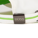 BOSS Men's Embroidered Logo Cap - White