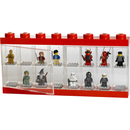 Vitrine d'exposition de figurines LEGO® 16 -Rouge