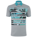 Primal Cutback Compass Polo Shirt - Blue