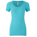 Primal Airespan Women's Knitted T-Shirt - Blue