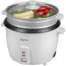 Elgento E19013 Rice Cooker - White - 1.5L