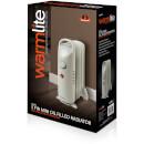Warmlite WL43002Y Oil Filled Radiator - White - 650W