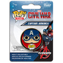 Captain America: Civil War Captain America Badge Pop! Pin