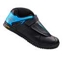 Shimano AM700 Flat Sole Cycling Shoes - Black/Blue