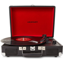 Crosley Cruiser Portable Turntable with Built-In Stereo Speakers - Black