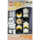 LEGO Star Wars Stormtrooper Mini Figure Link Watch
