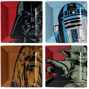Star Wars Iconic Character Graphic Set of 4 Plates
