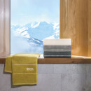 Hugo BOSS Plain Towel Range - Concrete