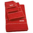 Hugo BOSS Plain Towel Range - Poppy