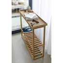 Wireworks Hello Storage Console Table - Oak