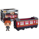 Figura Pop! Vinyl Ridez Ron Weasley y Hogwarts Express - Harry Potter