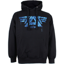 Marvel Men's Captain America Civil War A-Wings Hoody - Black