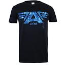 Marvel Men's Captain America Civil War A-Wings T-Shirt - Black