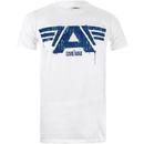 Marvel Men's Captain America Civil War A-Wings T-Shirt - White