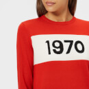 Bella Freud Women's 1970 Merino Jumper - Red