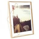 "Umbra Prisma Photo Frame - Matt Brass - 8 x 10"""