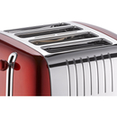Dualit 46281 Lite 4 Slot Toaster - Metallic Red